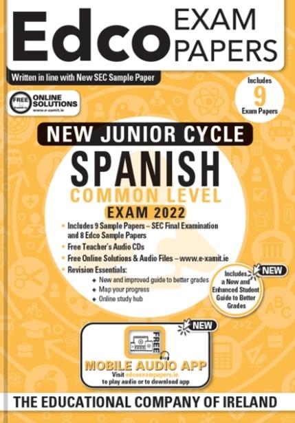 Spanish JC Common Level 2022