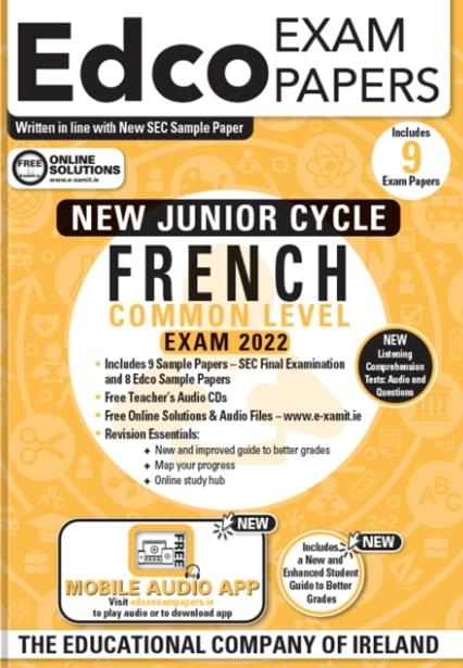 French JC Common Level 2022 (EDCO)