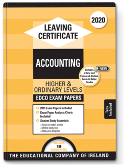 Accounting LC OL & HL Exam Papers 2020 (EDCO)