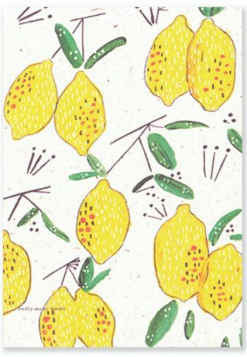 Badly Made Books A5 Lemon Lined Notebook