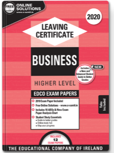 Business LC HL Exam Papers +ABQs 2020 (EDCO)