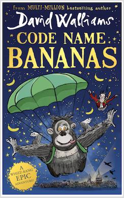 PRE-ORDER - Code Name Bananas by David Walliams