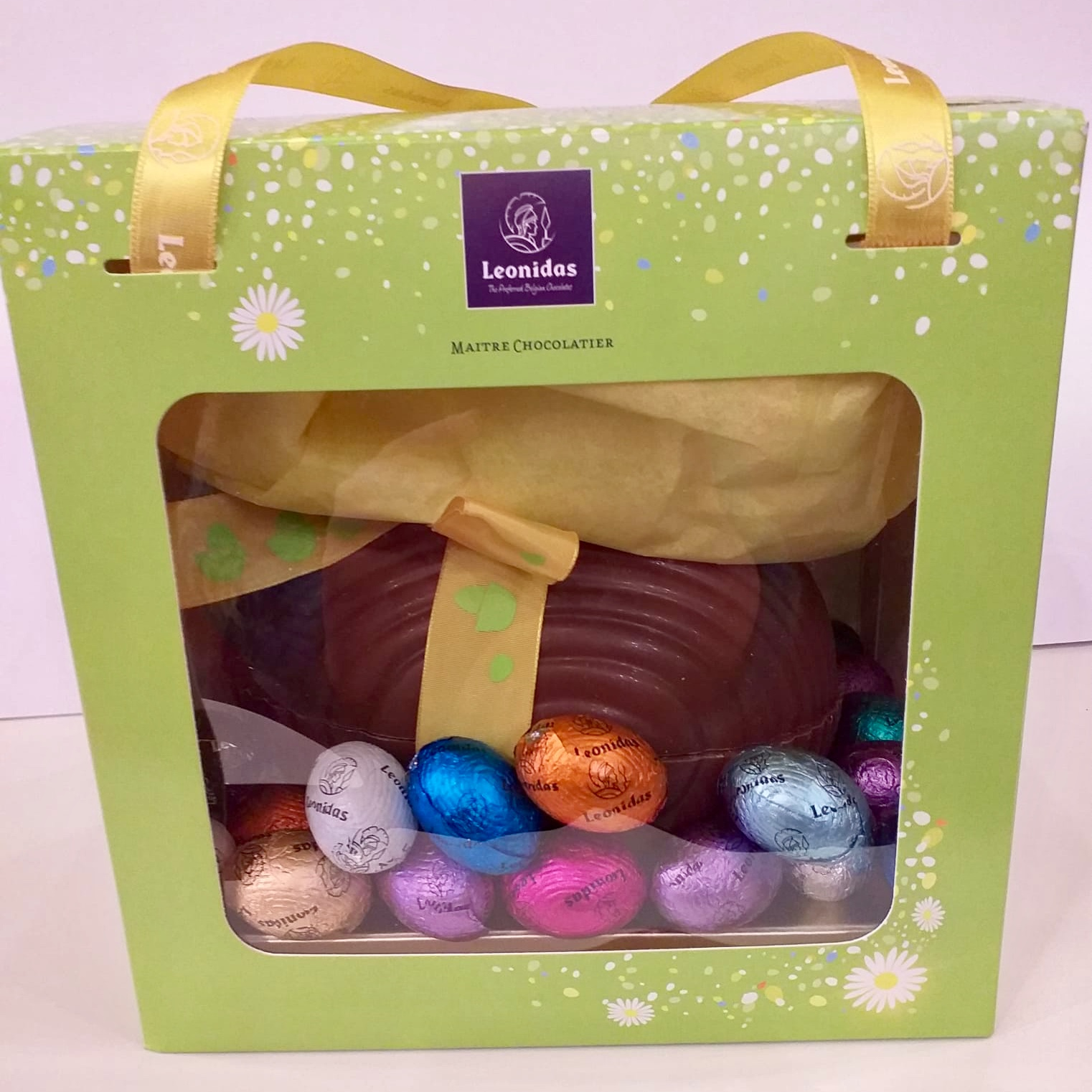 Chocolate Easter Egg With Mini Eggs