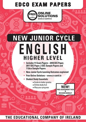 English JC HL Past Papers 2018