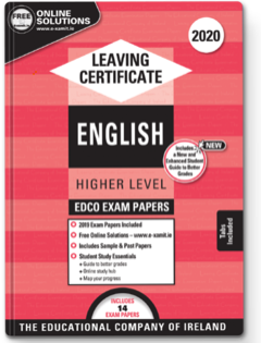 English LC HL Exam Papers 2020 (EDCO)