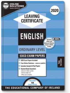 English LC OL Exam Papers 2020 (EDCO)