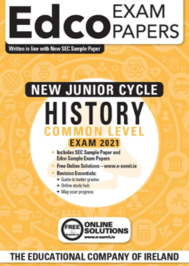 Exam Papers (2020) - Junior Cycle - History - Common Level