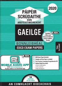 Exam Papers (2020) - Leaving Cert - Gaeilge / Irish - Foundation Level