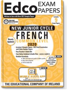 French JC Common Level 2020 (EDCO)