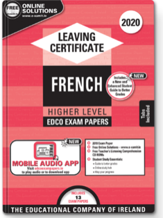 French LC HL Exam Papers 2020 (EDCO)