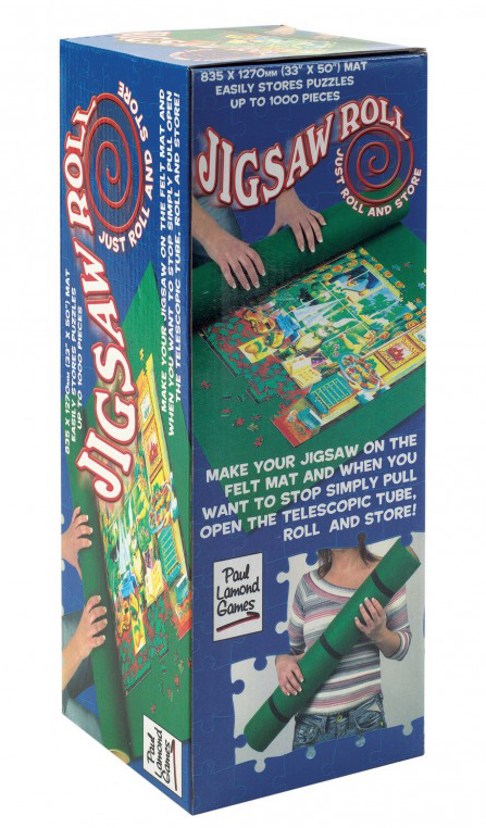 A JIGSAW ROLL. UP TO 2000 PIECES