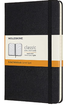 Moleskine Classic Notebook, Hard Cover, Medium