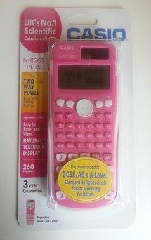 Pink Casio Calculator