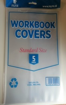 Filfix Work Book Covers Pack 5