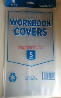 Filfix Work Book Covers Pack 5