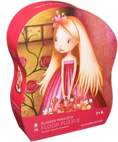 Bertoy 36 pc Shaped Puzzle/Flower Princess