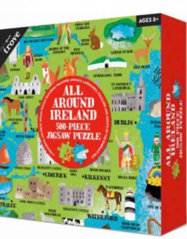 All Around Ireland 200 Piece Jigsaw