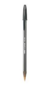 Bic Cristal Medium Ballpoint Pen, Black