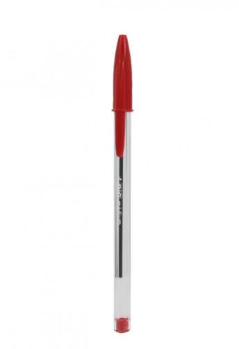 Bic Cristal Medium Ballpoint Pen, Red