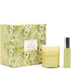 Chamomile & Wild Burren Thyme- Candle And Handmade Perfume Gift Set
