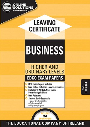 Business LC OL HL Past Papers 2018