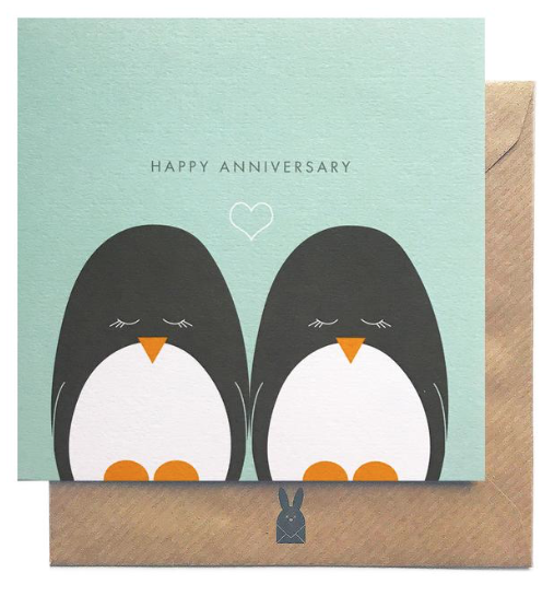 Happy Anniversary  Irish Made Card