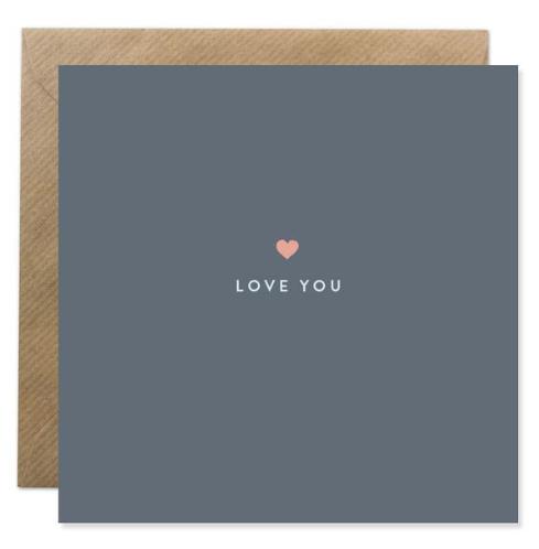 """""""Love You""""  Irish Made Card"""