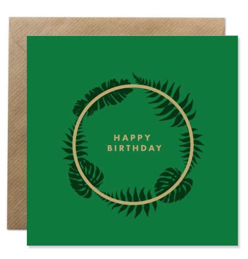 Happy Birthday - Irish Made Card