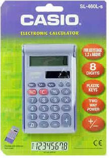 Casio Calculator Sl-460L-S