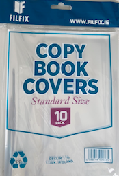 Filfix Clear Copy Covers 10 Pack