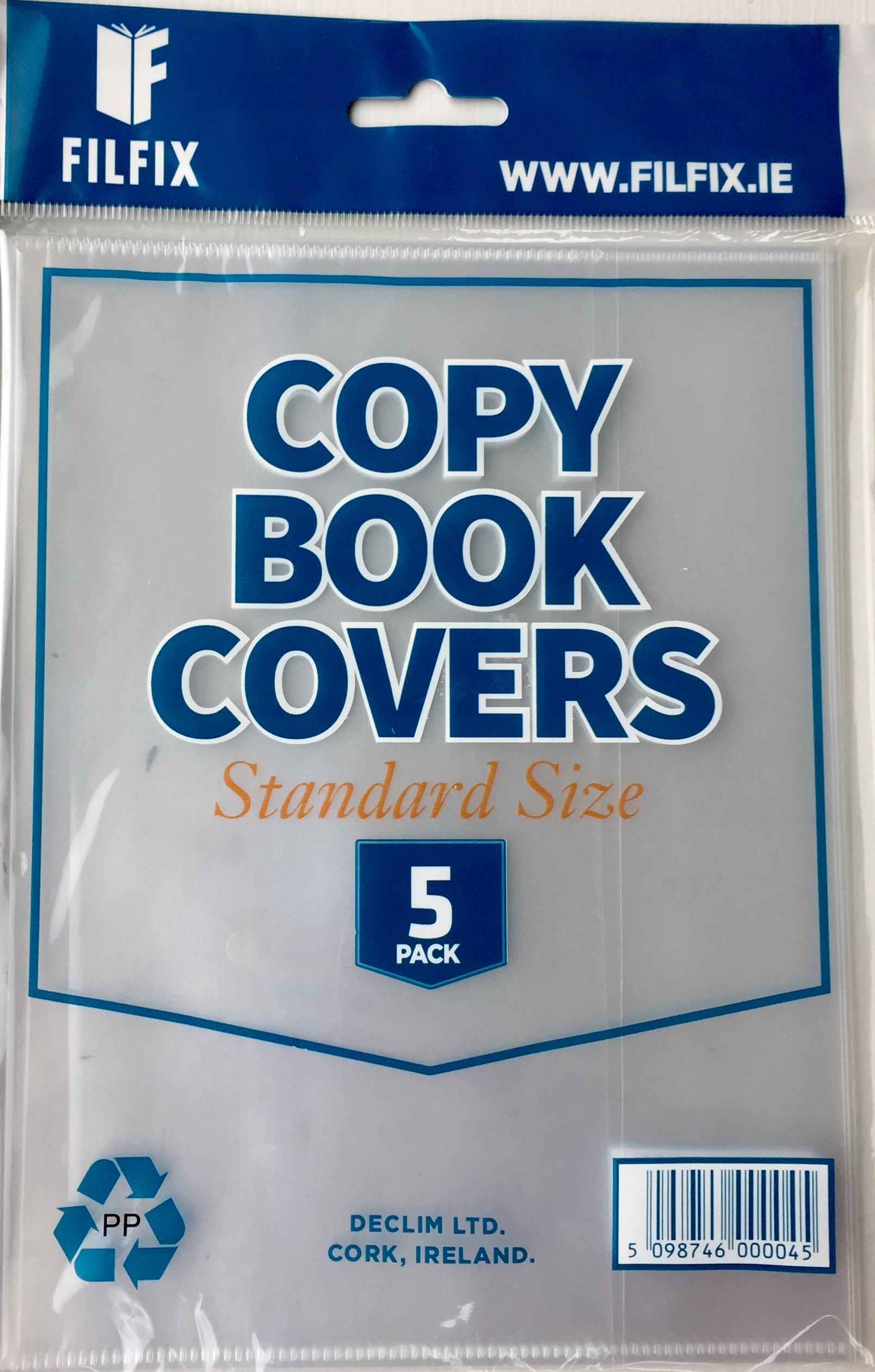 Filfix Copy Covers-Clear (5 Pack) Standard Size