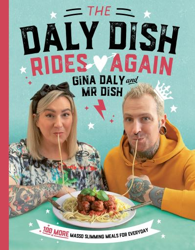 The Daly Dish Rides Again by Gina Daly - Author Signed Book Plate