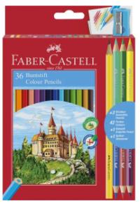 FABER CASTELL 36 COLOUR PENCILS