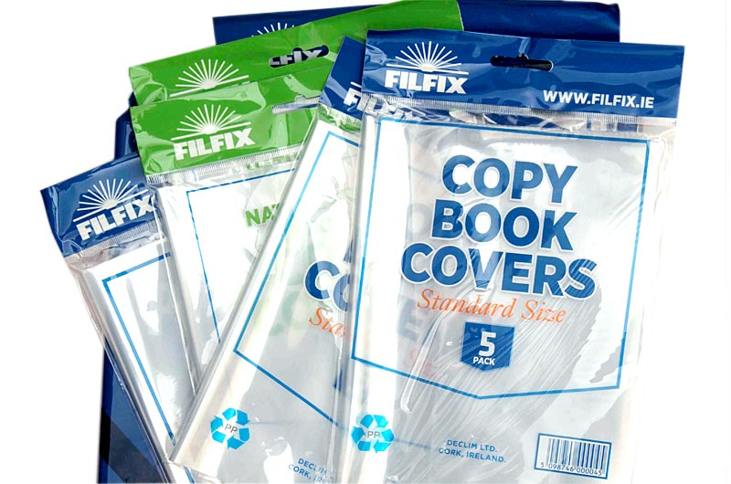 Filfix Copy Covers-Clear (5Pk)