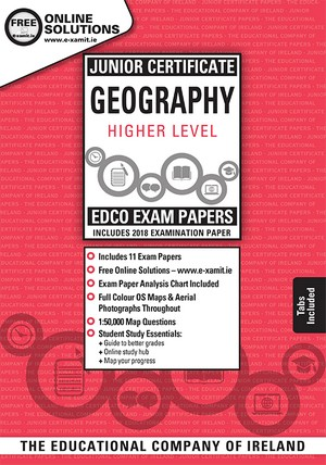Geography JC HL Exam Papers 2019 (EDCO)