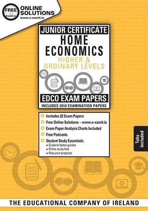 Home Economics JC OL+HL Exam Papers 2019 (EDCO)