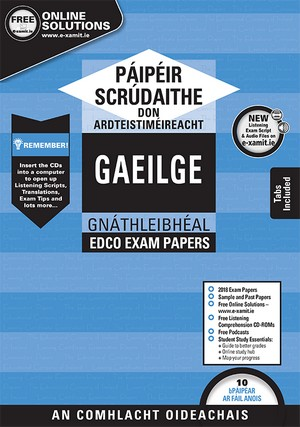 Irish LC OL Exam Papers 2019 (EDCO)