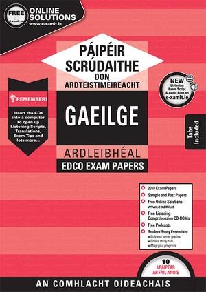 Irish LC HL Papers & Cd Rom 2018