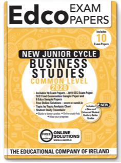 Business Studies Common Level JC Exam Papers 2020 (EDCO)
