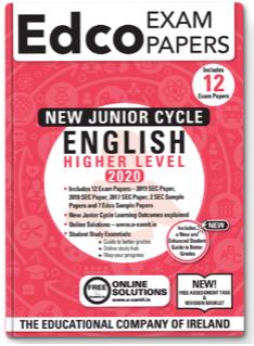English JC HL Exam Papers 2020 (EDCO)