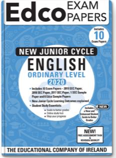 English JC OL Exam Papers 2020 (EDCO)