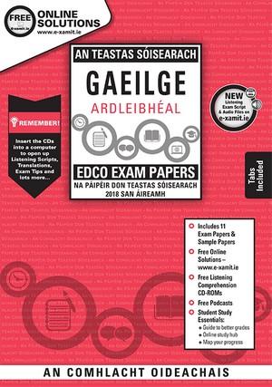 Irish Junior Cert Higher Level Papers & Cd Rom 2018