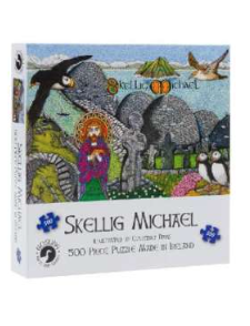 Gosling Skellig Michael Irish Made 500 Piece Puzzle