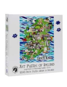 Gosling Art Puzzle of Ireland  Irish Made 1000 Piece Puzzle
