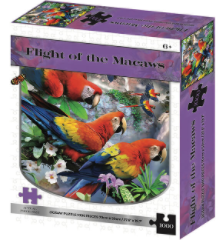 Flight of the Macaws 1000 Piece Age 6+
