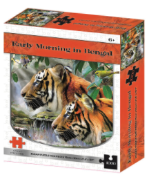 Early Morning In Bengal 1000 Pieces Age 6+