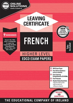 French LC HL Exam Papers 2019 (EDCO)