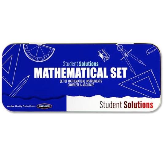 Student Solutions Math Set 9 PC LIGHT BLUE, GREEN