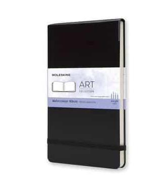 Moleskine Watercolour Notebook Album - Large Black - Moleskine Classic