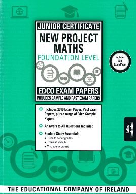JC Project Maths Foundation Level Sample & Past Papers (With Answers)